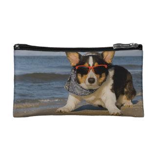 Beach Patrol Officer Cosmetics Bags