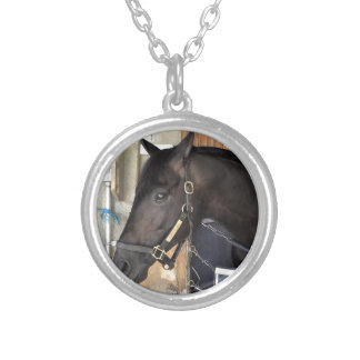 Beach Patrol Silver Plated Necklace
