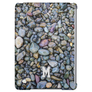 Beach Pebbles custom monogram device cases Cover For iPad Air
