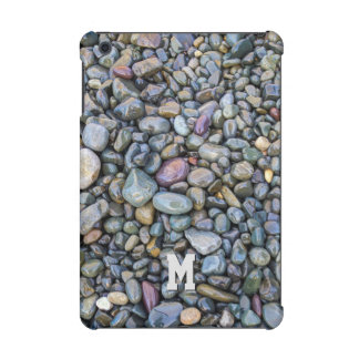 Beach Pebbles custom monogram device cases iPad Mini Cover