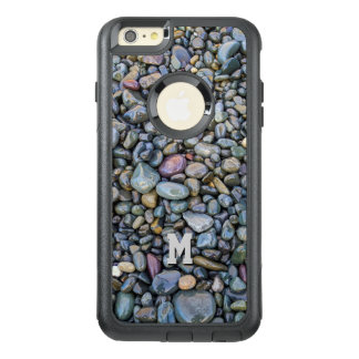 Beach Pebbles custom monogram phone cases