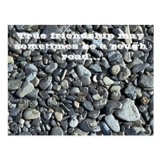 Beach Pebbles: Friendship - Postcard
