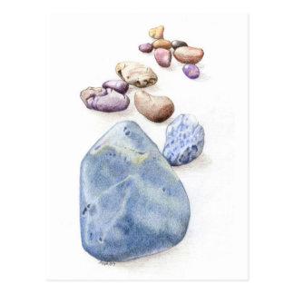 Beach Pebbles Postcard