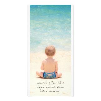 beach photo cards