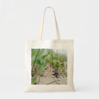 Beach plants summer tote bag