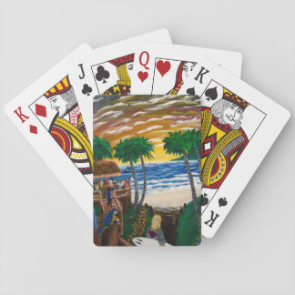 Beach Playing Cards