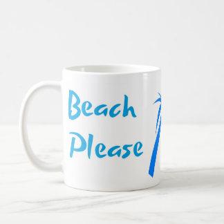 Beach Please 11 oz Classic Mug