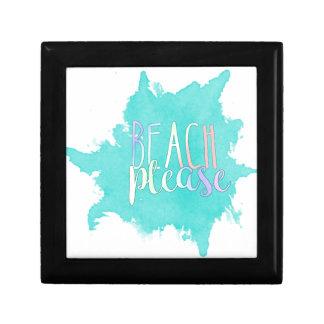 Beach Please Gift Box