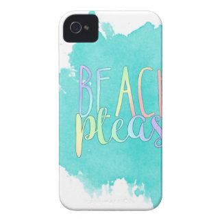 Beach Please iPhone 4 Case-Mate Case