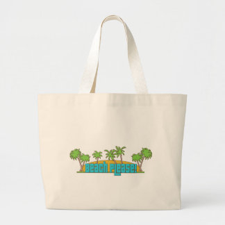 Beach Please! Large Tote Bag