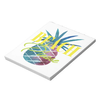 BEACH PLEASE SUMMER PINEAPPLE NOTEPAD