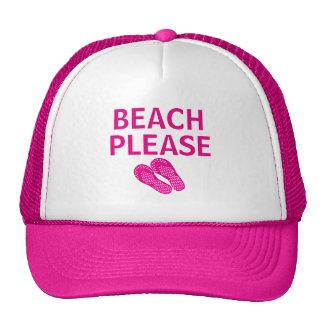 Beach Please Trucker Hat