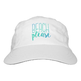 Beach Please | Turquoise Ombre Hat