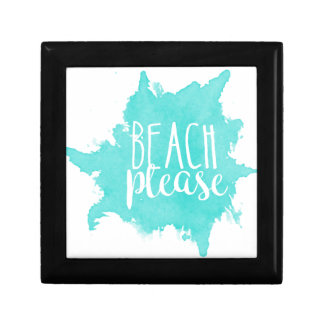 Beach Please White Gift Box