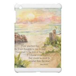 Beach Posts Sunrise-Psalm 139 iPad Mini Case