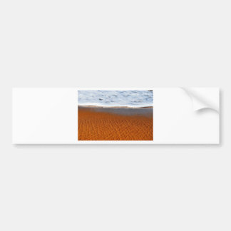 BEACH QUEENSLAND AUSTRALIA BUMPER STICKER