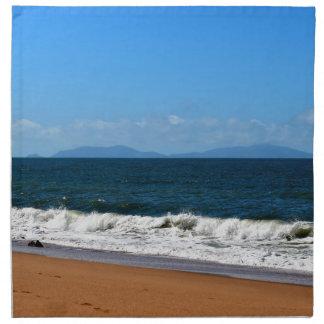 BEACH QUEENSLAND AUSTRALIA NAPKIN