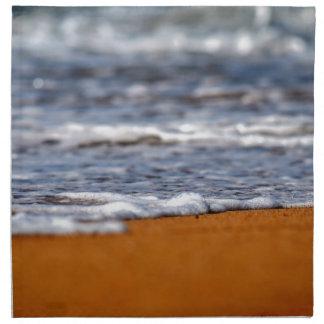 BEACH QUEENSLAND AUSTRALIA PRINTED NAPKIN