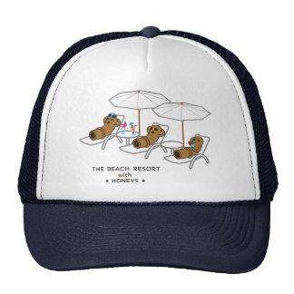 < Beach resort range - zu > HANIWAs in Beach Trucker Hat