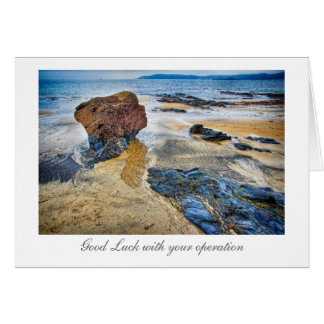 Beach Rock - Good Luck with your Operation Card