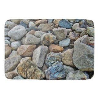 Beach Rocks Bath Mat