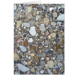 Beach Rocks Card