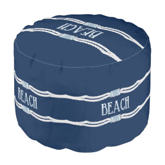 Beach Rope Pouf