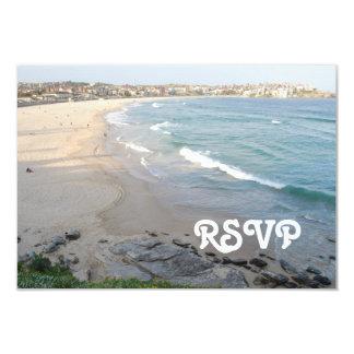 Beach RSVP Card
