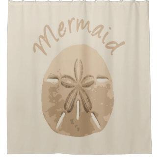 Beach Sand Dollar Mermaid Quote Custom Color