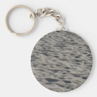 Beach Sand Key Chain