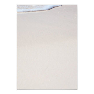Beach Sand Print Your Own Blank Paper Card