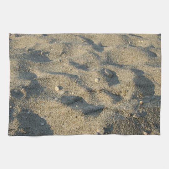 Beach sand summer cover kitchen towel