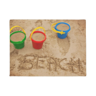 Beach Sand Words Doormat