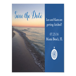 Beach Save The Date Magnet Magnetic Invitations