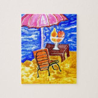 Beach Scene Art Puzzle