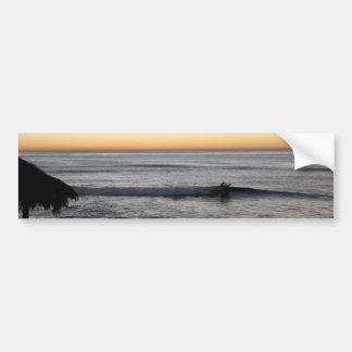 Beach Scene Bumper Sticker