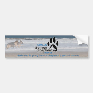 Beach Scene Bumper Sticker - Coastal GSR