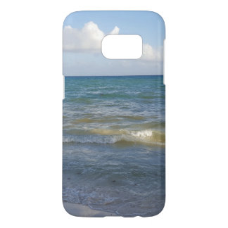 Beach Scene in Tulum, Mexico Samsung Galaxy S7 Case