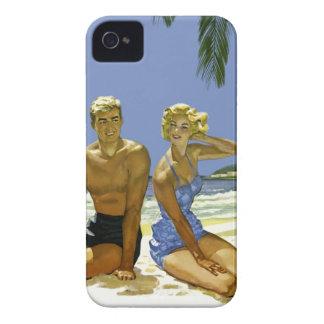 Beach scene iPhone 4 cover