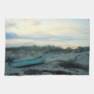 Beach Scene Kitchen Towel