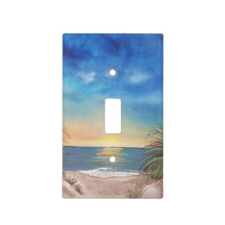 Beach Scene Light Switch Cover