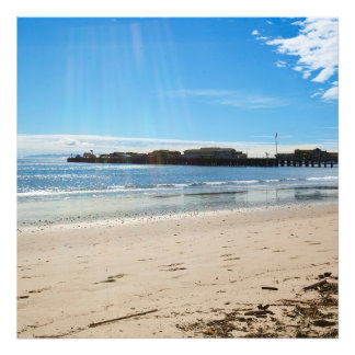 Beach Scene Photo Art