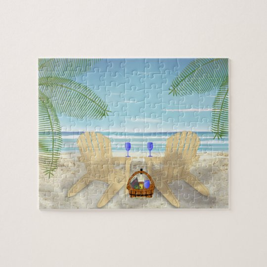 Beach Scene Puzzle