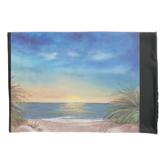 Beach Scene Standard Pillowcase