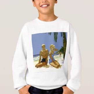 Beach scene sweatshirt