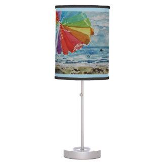 Beach Scene Table Lamp
