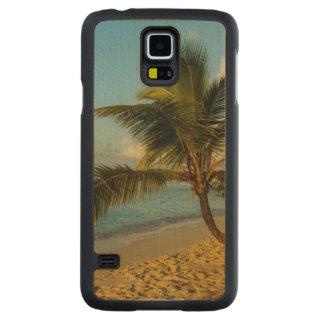 Beach scenic maple galaxy s5 case