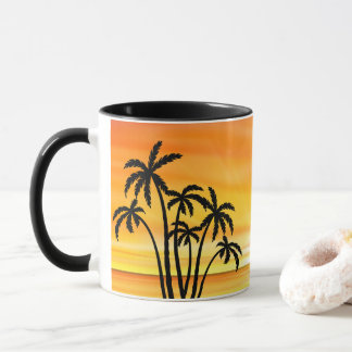 Beach Scenic Sunset Mug