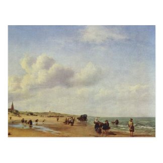 Beach Scheveningen Holland Velde Postcard