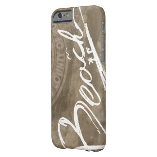 Beach Script Handwritten iPhone 6/6s Barely There iPhone 6 Case